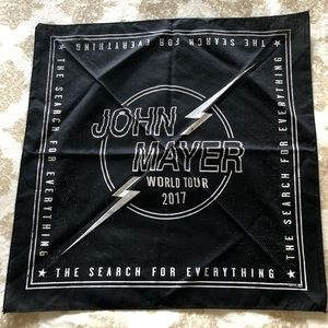 Accessories - (NEW) JOHN MAYER 2017 BANDANA